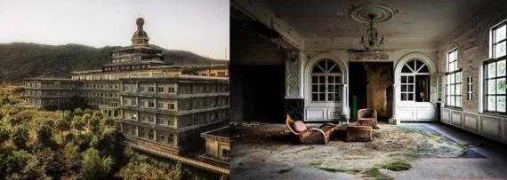 Най-големият изоставен хотел в Япония