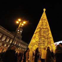 Коледните светлини на европейските столици