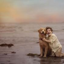Вълнуващи кадри разкриват силната връзка между децата и природата