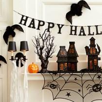 Оригинални идеи за украса на дома за Хелоуин