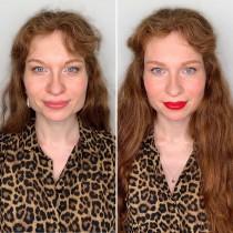 Преди и след: Аз срещу гримьора
