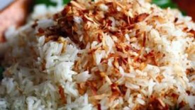 Хавайски кокосов ориз