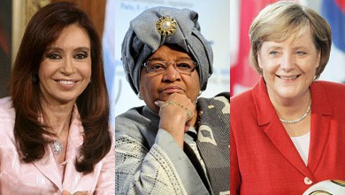 Висшите дами на политическата сцена