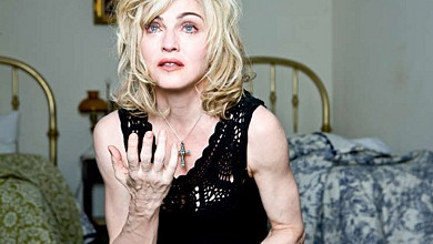Мадона без фотошоп