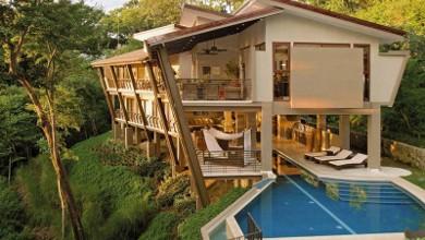 Къщи от бъдещето: Ваканционна къща в Коста Рика