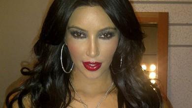 Ким с ново гадже и секси снимки