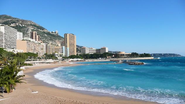 Монако: Плажовете на Европа: Монако