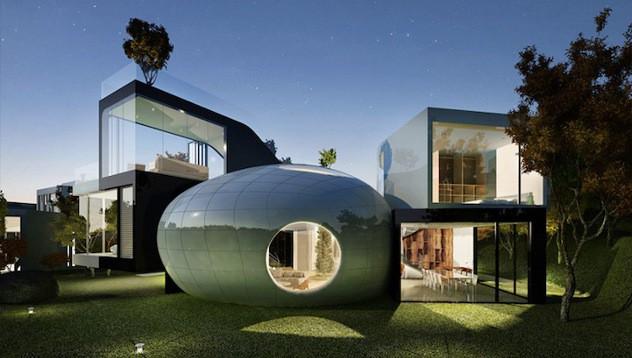 Къщи от бъдещето: Cocoon House