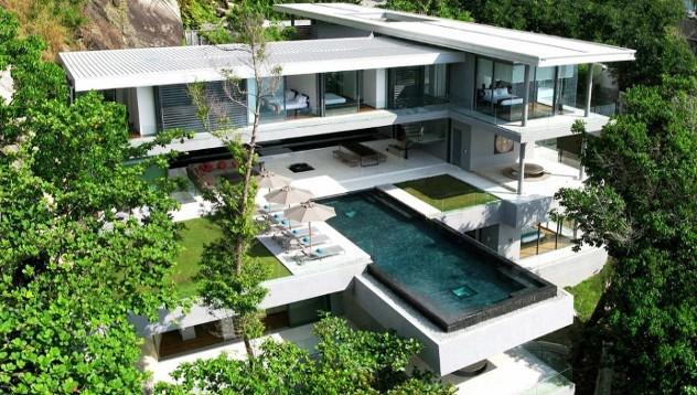 Къщи от бъдещето: Villa Amanzi