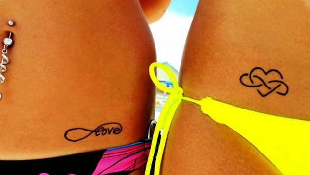 Татуировки e девушек d bynbvys vtcnf 18 фотография