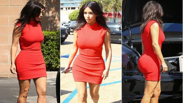 Кание, Ким и червената рокля - Моят стил... Днес! - woman.bg 322ee4748c4
