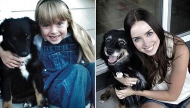 Уникални фотоси на домашни любимци: Преди и сега