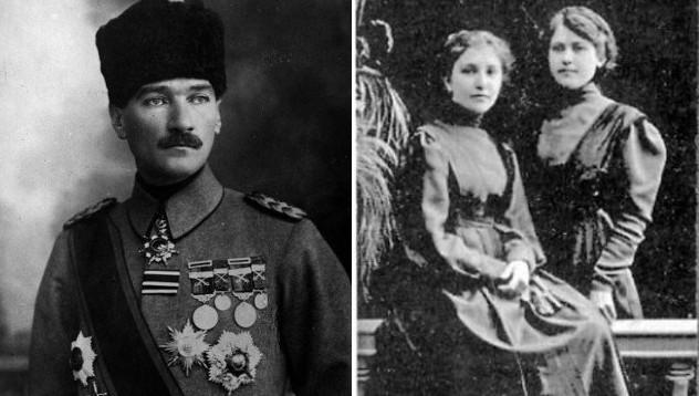 Любовта на известните: Кемал Ататюрк и Димитрина Ковачева