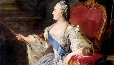 Еротичните мебели на Екатерина Велика