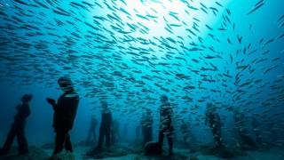 На разходка в първия подводен музей в Европа (Видео)