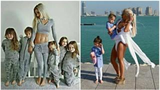 Възможно е - тя има 5 деца и е в перфектна форма!