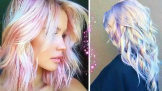 Холографен ефект в косите - новата гореща мода