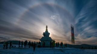 Ступа София - тибетско късче в полите на Плана планина