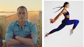 Дъщерята на Жан Клод Ван Дам е по-тренирана и от него