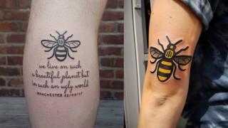 В отговор на терора - татуси с пчели!