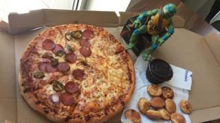 Един делник в офиса... с пица