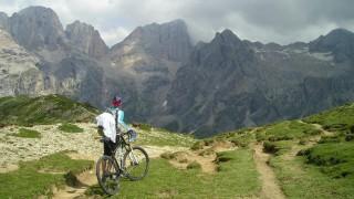 С колело в планината през летните дни