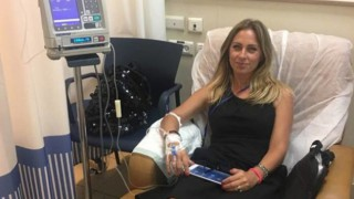 Нана разбрала за рака на път към плажа