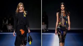 Versace: Смелост, дързост и индивидуалност за есен-зима 2017/2018 (СНИМКИ)