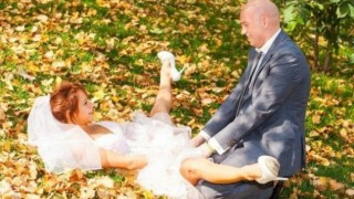 Когато сватбата се превърне в пълна комедия (Снимки)