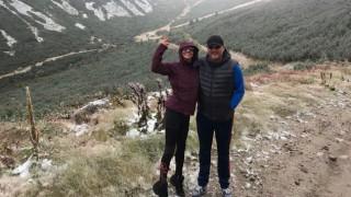 Деси Цонева и шеф Манчев изкачиха Мусала в сняг
