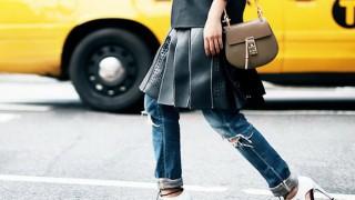 Да или не: Рокля върху панталон?
