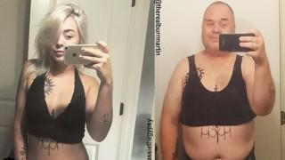 Той копира секси снимките на дъщеря си и се превърна в хит!