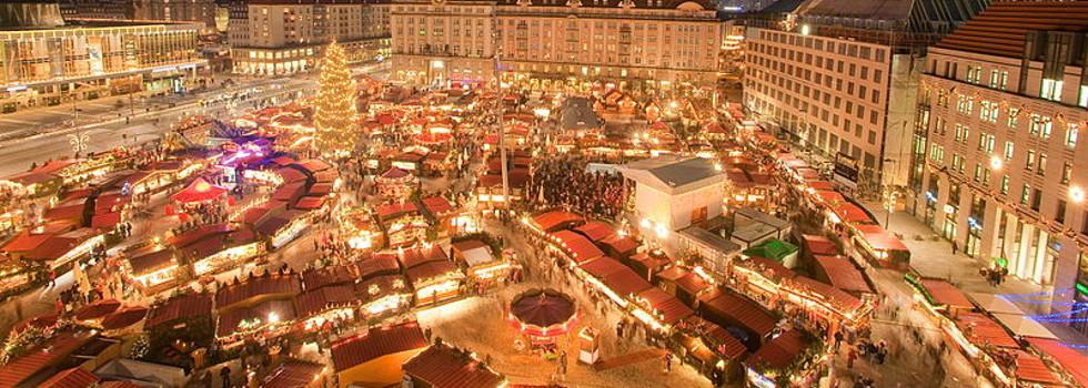 Най-красивите коледни базари в Европа