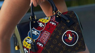 Японската култура принтирана от Louis Vuitton
