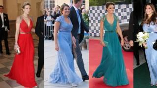 Упс, тя е със същата рокля!