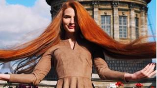 Съвети за бляскава и дълга коса от руската Рапунцел