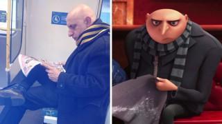 Забавни снимки: Истински хора, които приличат на анимационни герои
