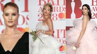 Коя е най-добре облечената звезда на наградите БРИТ?