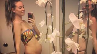 Бехати Принслу пусна първа снимка на бебето си