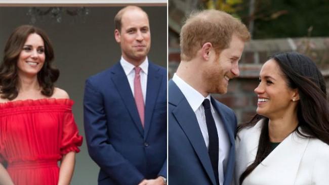 Битката на кралските особи: Кейт и Уилям или Меган и Хари?