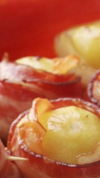 Италиански хапки с картофи и бекон