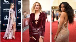 Най-добре и най-зле облечените на наградите Billboard