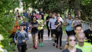Nike+ run club София с много изненади за рождения си ден!