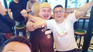 Продуцентът Андрей Арнаудов почерпи за бебето