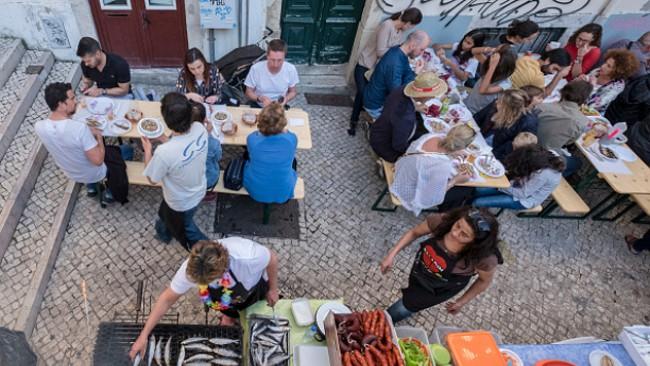 На охлюви и вино верде в Португалия