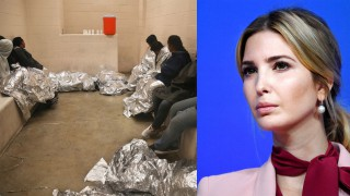 Иванка Тръмп шокира: Облече одеяло на имигрант