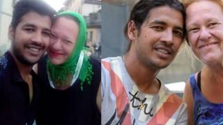 Откачена любов: Тя е на 56 и е луда по 27-годишен бежанец
