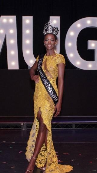 За първи път от 66 години: Тъмнокожа е Мис Вселена Великобритания