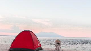 Когато градската принцеса отиде на палатка