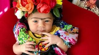 Вижте 4-месечната Фрида Кало